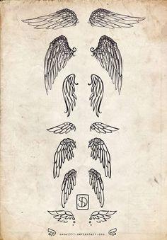 Tattoos / Angel Wing Tattoo #tattoo #tattoos