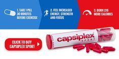 Benefits of Capsiplex Sport