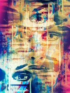 'The unknown face' von Gabi Hampe bei artflakes.com als Poster oder Kunstdruck $27.72