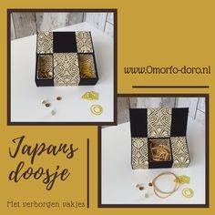 Een prachtig doosje met geheime vakjes. Zo handig voor paperclips, elastiekjes en punaises. Een stijlvol doosje voor op je bureau in Jugendstil stijl. Golden Box, Little Box, Booklet, Shoulder Bag, Desk, Art Nouveau