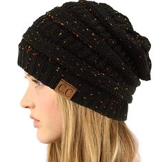 0351e30f2 Women Lady Braided Warm Cabled Knit Winter Beanie Crochet Hats ...