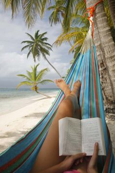Relaxing on the beach with a great book. What do you want else? The Best Travel Places