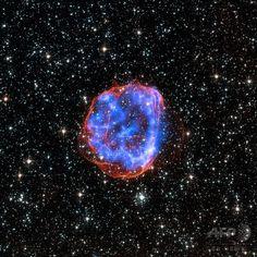 大マゼラン雲の超新星残骸、NASAが画像公開 国際ニュース:AFPBB News