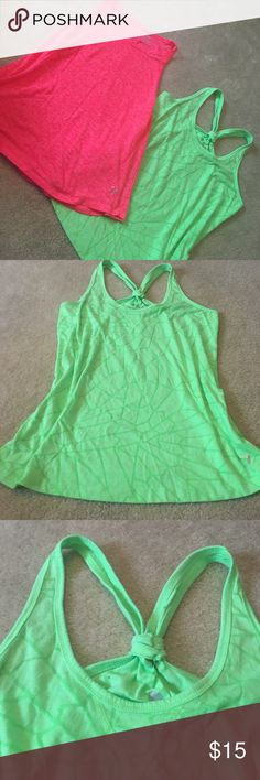 SALE OLD NAVY tank top duo This adorable duo from Old Navy is great for all types of workouts! The also look great with a bralette or bikini underneath with a pair of jean shorts! Check out my whole closet today and bundle and save Old Navy Tops Tank Tops