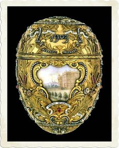 First Hen Egg Faberge | Faberge Eggs;Azov Egg; Faberge Eggs Pictures;Kremlin Armoury Museum ...