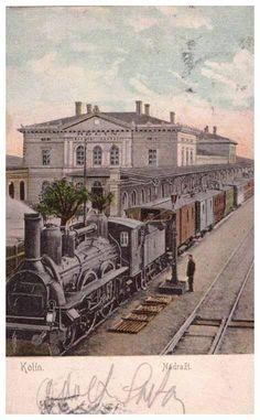 2. kolínské nádraží - sbírka pana Miloslava Švece