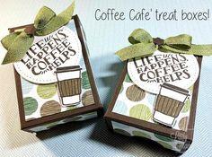 Super Cute Coffee Cafe Box Tutorial