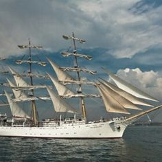 The Gift of Youth, a Polish Sail Training Ship