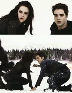 Edward and Bella #Breaking #Dawn #Part 2