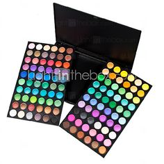 120 Colors Professional Dazzling Matte&Shimmer 3in1 Eyeshadow Makeup Cosmetic Palette - USD $ 9.99