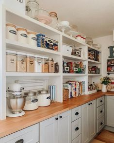 extradionary small pantry storage organization ideas for kitchen modern 50 Small Kitchen Pantry, Pantry Room, Kitchen Pantry Design, Kitchen Organization Pantry, Interior Design Kitchen, New Kitchen, Kitchen Storage, Kitchen Decor, Pantry Ideas
