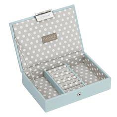 Pudełko na biżuterię z pokrywką mini Stackers