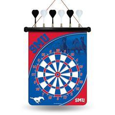 Southern Methodist Mustangs NCAA Magnetic Dart Board
