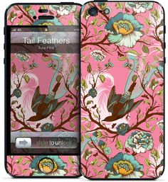 Tula Pink - Tail Feathers - iPhone 5 | GelaSkins