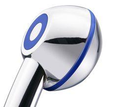 Spart bis zu 50% Wasser und Energie beim Duschen: AquaClic CLIMA Chrom Azul verbraucht nur 5l/min.Gesehen für € 32,95 bei kloundco.de.