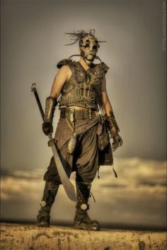 Inspiration for post apoc costumes (Page - Costumes - Wasteland Weekend Forums - Online Post-apocalyptic Community Post Apocalyptic Clothing, Post Apocalyptic Costume, Post Apocalyptic Art, Post Apocalyptic Fashion, Apocalypse Fashion, Apocalypse World, Zombie Apocalypse, Apocalypse Costume, Apocalypse Character