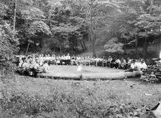 Large fire circle