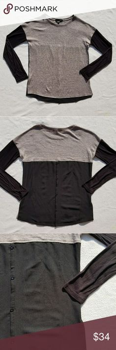Sanctuary Blouse, Long Sleeve This long sleeve hi low blouse is cute and comfy. It's light weight, so pair it with your favorite jacket!!  **All purchases come with a FREE gift!!** Sanctuary Tops