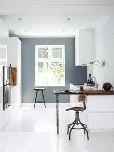 Amazing Modern Kitchen Design Ideas And Remodel New Kitchen, Kitchen Interior, Kitchen Decor, Kitchen White, Kitchen Wood, Kitchen Styling, Kitchen Wall Colors, Kitchen Tips, Kitchen Island
