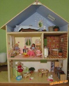 Domeček pro panenky – inspirace pro Vás<br><br>Domeček pro panenky jsme vyrobili společnými silami s...