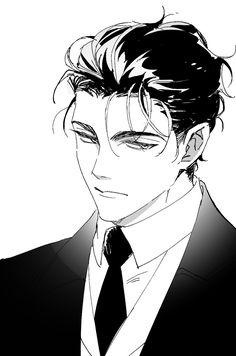 Anime Drawings Sketches, Anime Sketch, Manga Drawing, Manga Art, Anime Art, Guy Drawing, Dark Anime Guys, Cool Anime Guys, Handsome Anime Guys