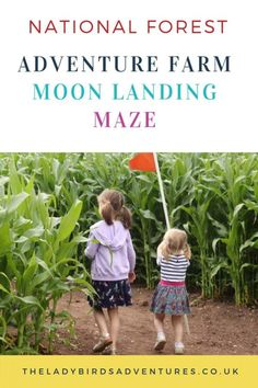 National Forest Adventure Farm moon landing maze 2019 – Famous Last Words Adventure Farm, Forest Adventure, Days Out With Kids, Family Days Out, Summer Activities For Kids, Fun Activities, Travel With Kids, Family Travel, Travel Uk