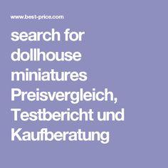 search for dollhouse miniatures Preisvergleich, Testbericht und Kaufberatung