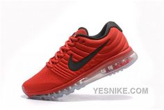 hot sale online 595ef 55327 Luxury Hot Bags Hut - Original Purses Factory Outlet Collection New Coming Nike  Air Max 2017 Black Red Men Shoes - New Coming Nike Air Max 2017 Black Red  ...