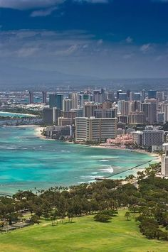 Hawaii. it'll be amazing to live here, but if i don't i would like to travel here every once in a while for fun or because of my job