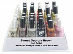 Rare 1990s Sweet Georgia Brown cosmetics. Hard to find in the 90s, this image was even harder to find on the internet! Loved this stuff.