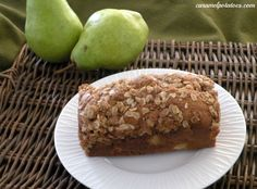 Caramelized Pear Bread with Streusel Topping-need I say more.  This looks amazing.