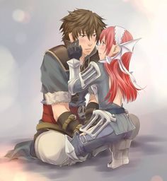 Fire Emblem: Awakening - Lon'qu and Cherche