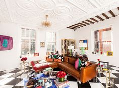 Observer magazine feature on designer of alice + olivia Stacey Bendet's New York home.
