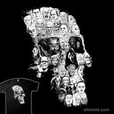 Horror Skull #alexdelarge #brideoffrankenstein #dracula #film #frankenstein #freddykrueger #gillman #hanniballecter #horror #jasonvoorhees #jigsaw #kingkong #moutchy #movie #pennywise #predator #skull #yannickbouchard