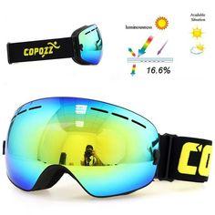 f7776cf50a17 2018 Double Layers UV400 Anti-Fog Ski Mask Masque Snowboard