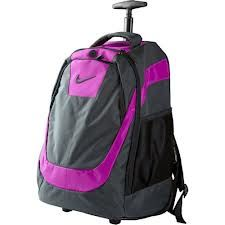 Wheeled backpacks are an advancement to the traditional backpacks which generally wear on our back. As we expect from our bag we carry laptop,. Magenta, Girls Rolling Backpack, Backpack With Wheels, Print Logo, Laptop Backpack, Jansport, Nike, My Style, Bags