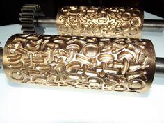 Sehr seltene alte antike Bonbonwalzen für Bonbonmaschine. Messing um 1900 | eBay Hard Candy, Messing, Alter, Ebay, Candy, Antiquities