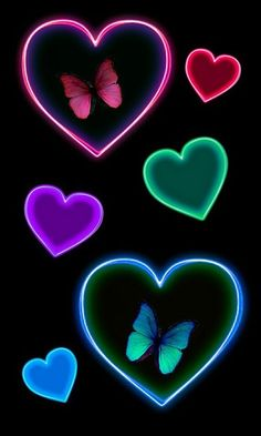 Imagem de background, black, and butterflies
