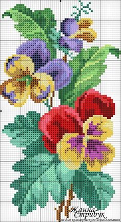 Cross Stitch Pillow, Cross Stitch Bird, Cross Stitch Borders, Cross Stitch Flowers, Modern Cross Stitch, Cross Stitch Charts, Cross Stitch Designs, Cross Stitching, Cross Stitch Embroidery