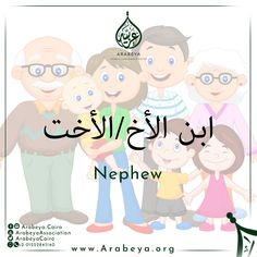 Celebrating International Day Of Families, there you are some of the Family members in Modern Standard Arabic ‍‍  #Family #InternationalDayOfFamilies #FamilyMembers #ModernStandardArabic #ArabicLanguage #LearnArabic #ILoveMyFamily #Mother #Father #Husband #Wife #Uncle #Aunt #Grandfather #Grandmother #Grandson #Granddaughter #Niece #Nephew