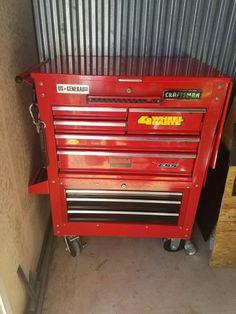 Garage Tool Storage, Garage Tools, Garage Ideas, Metal Tool Box, Welding Cart, Harbor Freight Tools, Tool Cart, Box Building, Socket Holder