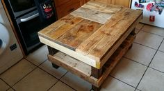 Rustic Coffee Table #6