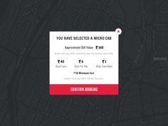 Cab App Pricing - Concept! by Santhosh Rajendran