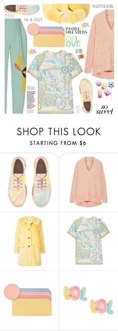 """So Sweet: Pastel Sweaters"" by ewa-naukowicz-wojcik on Polyvore featuring STELLA McCARTNEY, By Malene Birger, Shrimps, Emilio Pucci, Roksanda, Mark & Graham and pastelsweaters"