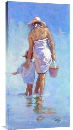 buy positive energy fine art painting Gentle Nudge at www.explosionluck.com