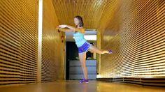 Pilates Reverse Leg Lift, 3 sets of 20 reps, Katie Horta