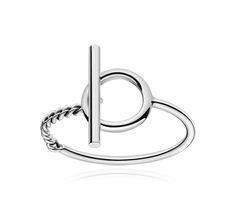 Croisette Bracelet en argent moyen modèle. Tour de poignet: 15,6 cm