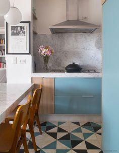 Cozinhas Modernas Ideias Para Planejar A Sua Architecture - Salle a manger wenge pour idees de deco de cuisine