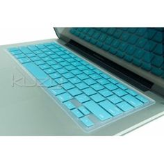 "$1 Kuzy - TURQUOISE Keyboard Silicone Cover Skin for Macbook / Macbook Pro 13"" 15"" 17"" Aluminum Unibody"