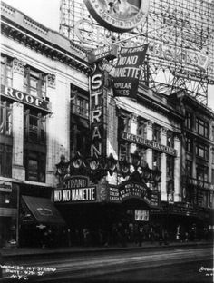 Strand, Broadway at 47th Street, New York City - Opened April 11, 1914 - Thomas Lamb, Architect - Photo circa 1930 - Joe Coco Collection, THSA American Theatre Architecture Archive